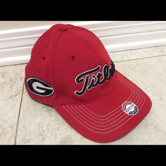 824c121d0ce Titleist Georgia Bulldog Golf Cap